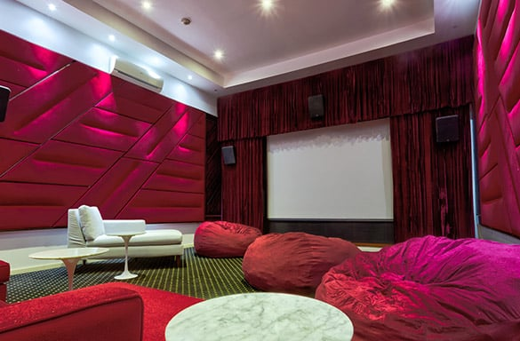 Trident Hotel Media Room